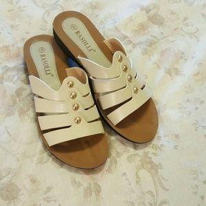 Rasolli sandals.  Size 8. NWOT